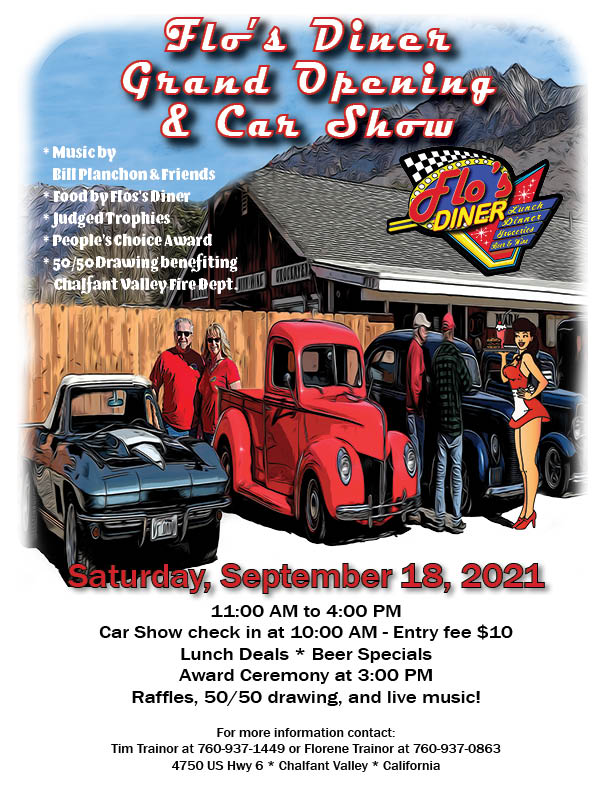 Grand Opening and Car Show Flyer